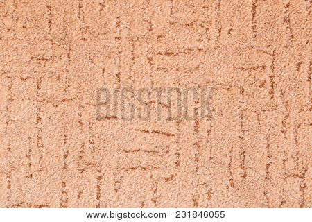 The Texture Of The Carpet . Detailed Beige Background