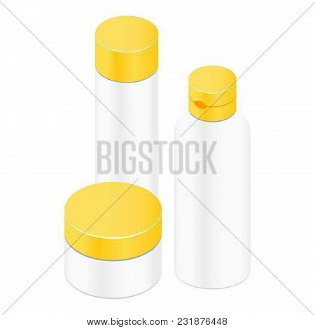 Jar For Honey Icon. Isometric Illustration Of Jar For Honey Vector Icon For Web