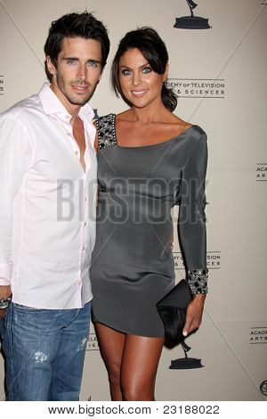 LOS ANGELES - JUN 16: Brandon Beemer, Nadia Bjorlin at the Academy of Television Arts and Sciences Daytime Emmy Nominee Reception at SLS Hotel at Beverly Hills on June 16, 2011 in Beverly Hills, CA