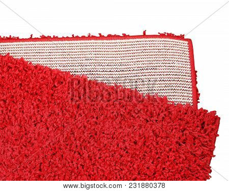 Welcome The Guest In Style By Choosing This Attractive Vibrant Red Color Doormat. Great Mesh Soft Du