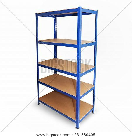 Modern And Simple Heavy Duty Boltless Wooden Shelves Storage Unit. You Can Use It Easily In Bathroom