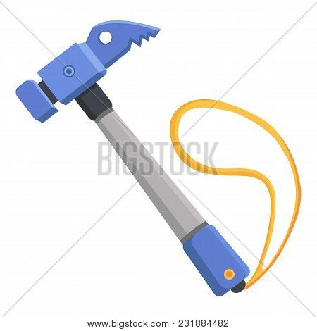 Hammer Icon. Flat Illustration Of Hammer Vector Icon For Web