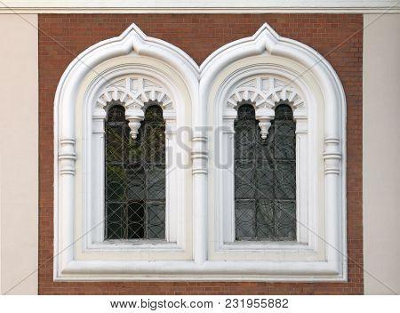 Window Of Alexander Nevsky Orthodox Cathedral In Tallinn, Estonia