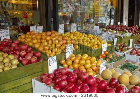 Fruit Stand - Brighton Beach