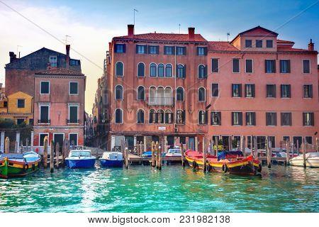 Venetian building facade