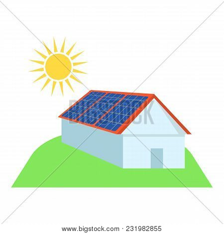 Alternative Energy Icon. Flat Illustration Of Alternative Energy Vector Icon For Web