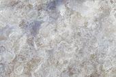 Texture of raw salt under sea water in evaporation ponds process at Phetchaburi province,Thailand ( Fleur De Sel ) poster