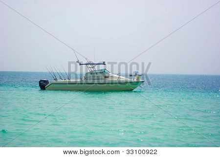 Fishing boat in Dubai