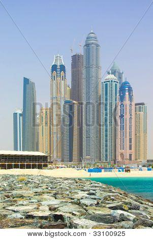 Dubai Town scape