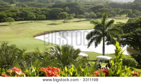 Golf Course In Paradise