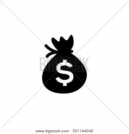 Money Bag, Money Bag Icon Vector, Money Bag Icon Sign For Logo, Money Bag Icon Flat, Money Bag Icon
