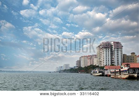 Economic Capital Of Kerala - Kochi's Skyline