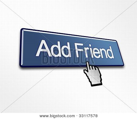 Clicked Add Friend Button