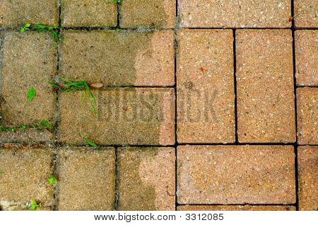 Bricks Dirty And Clean
