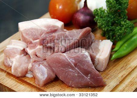 Pork Cubes