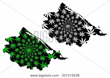 Thua Thien-hue Province (socialist Republic Of Vietnam, Subdivisions Of Vietnam) Map Is Designed Can