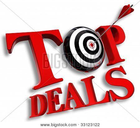 Top Delas Red Logo