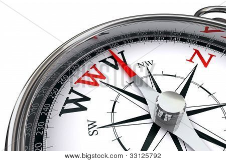 Www The Way Indicated By Compass