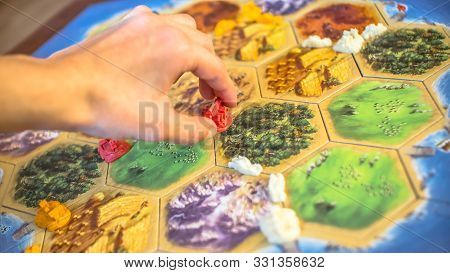 The Settlers Of Catan Board Game. Katana Board Game. Game For Family.  Russia/saint-petersburg -30.1