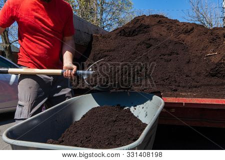 This Hd Picture Is Part Of A Photo Collection That Highlights The Various Landscaping Tools, Seasona