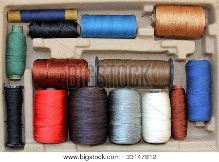 Multi-coloured Threads