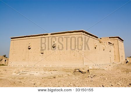 Western elevation, Dendera Temple, Egypt