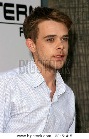LOS ANGELES - MAY 12: Nick Stahl at the Terminator 3: Rise of the Machines - Game Launch party held at the Raleigh Studios on May 12, 2012 in Los Angeles, California