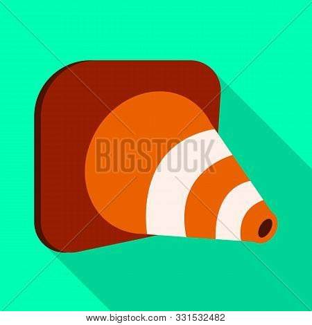 Vector Design Of Roadwork And Road Icon. Web Element Of Roadwork And Cone Stock Vector Illustration.