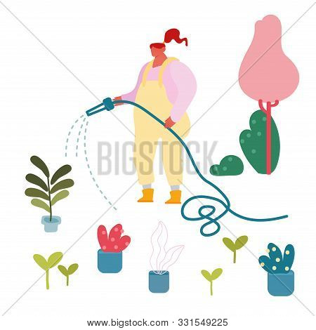 Rustic Nature Clip Art Vector Hand Stock Vector (Royalty Free) 726565840