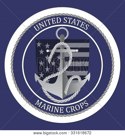 United States Marine Corps Happy Birthday 1775. National Military Event Is Organised In 10th Novembe