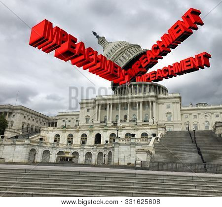 Impeachment In The United States Government  And Congress Vote  To Impeach The American President As