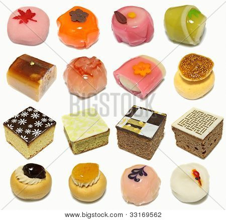 Collection Of Korean Traditional Cakes