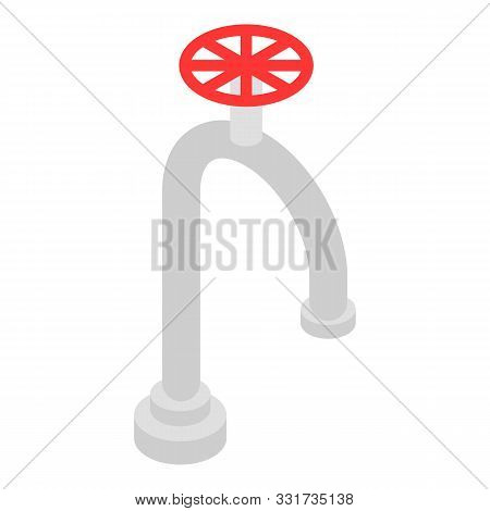 Water Tap Icon. Isometric Of Water Tap Vector Icon For Web Design Isolated On White Background