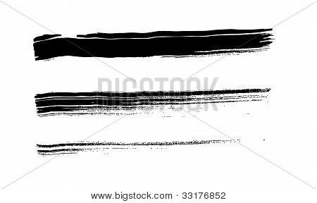 Ink briush stroke
