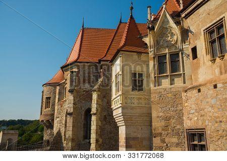 Hunedoara, Romania: Famous In Europe, Corvin Castle Or Hunyadi Castle In Hunedoara