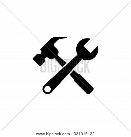 Tools Icon Isolated On White Background. Tools Icon Simple Sign. Tools Icon Trendy And Modern Symbol