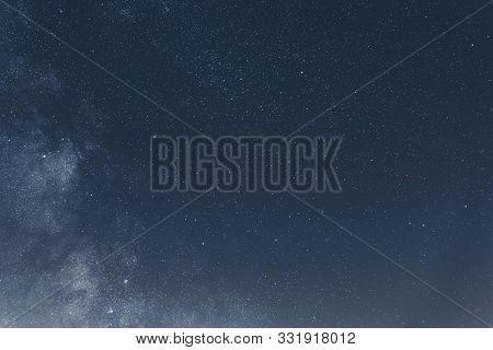 Night Sky With Shiny Stars, Astro Background