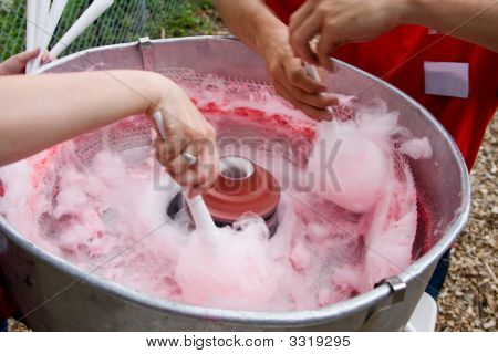 Making Cotton Candy