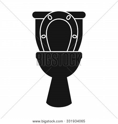 Vector Design Of Closet And Open Logo. Graphic Of Closet And Sanitation Vector Icon For Stock.