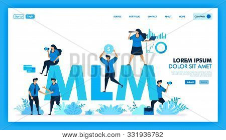 Mlm Affiliate Program Is Get Many Downline And Get Profit. Product Value In Multi Level Marketing Bu