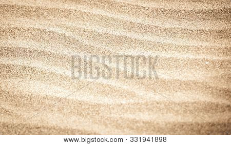 Close-up Of Sand Background Texture. Stock Image