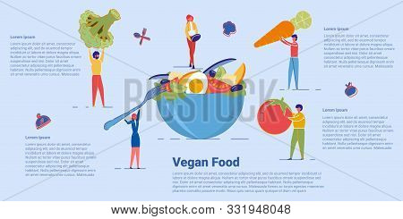 Healthy Green Vegan Food And Organic Vegetarian Menu. Nutritional Plan, Healthy Eating And Dieting.