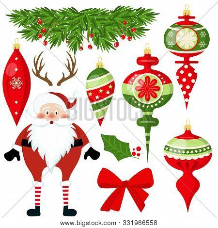 Christmas, Merry Christmas, Christmas Decoration, Vector, Season, Winter, Holiday, Christmas Element