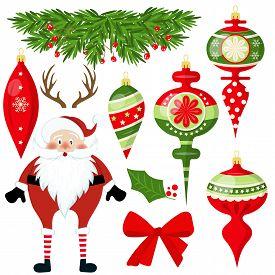 Christmas, Merry Christmas, Christmas Decoration, Vector, Season, Winter, Holiday, Christmas Element