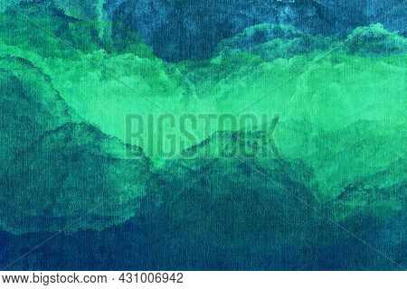 Multi-color Abstract Background. Acrylic Painting. Hand-drawn Illustration.