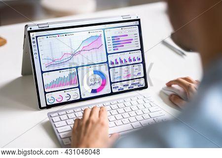 Data Analyst Using Data Analytics Kpi Dashboard