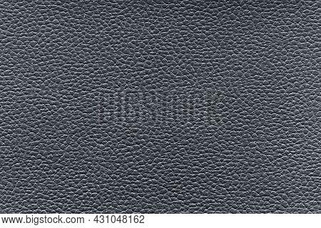 Gray Plastic Imitation Leather Texture Close Up
