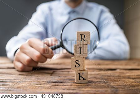 Economic Risk Measure Using Magnifier. Risks Management