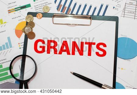 Grants Project Funding Grant Application, Concept Business