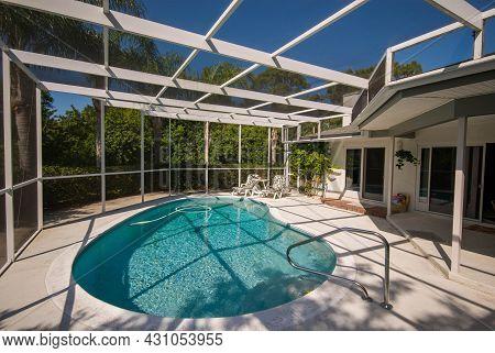An Inground Backyard Pool In South Florida